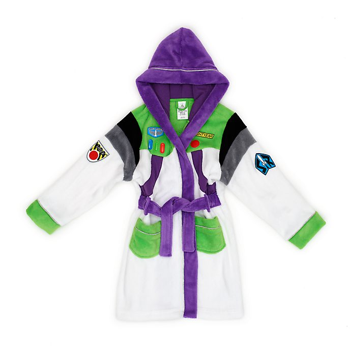Disney Store Buzz Lightyear Dressing Gown For Kids