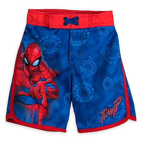 Spider-Man Swimming Shorts For Kids