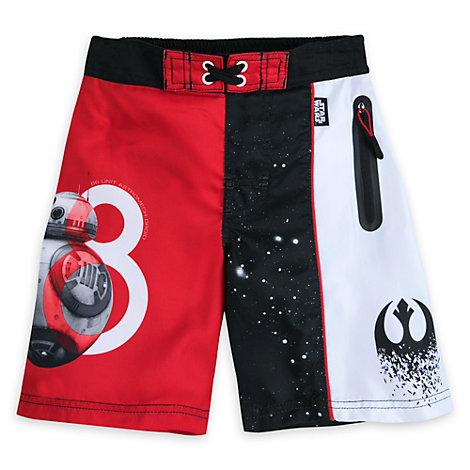 Star Wars: The Last Jedi Swimming Shorts For Kids