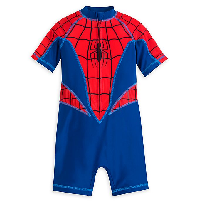 Disney Store Spider-Man Rash Guard For Kids