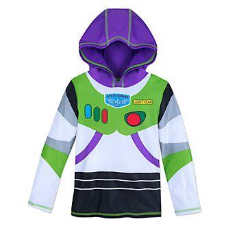 Disney Store Buzz Lightyear Hooded Rash Guard For Kids