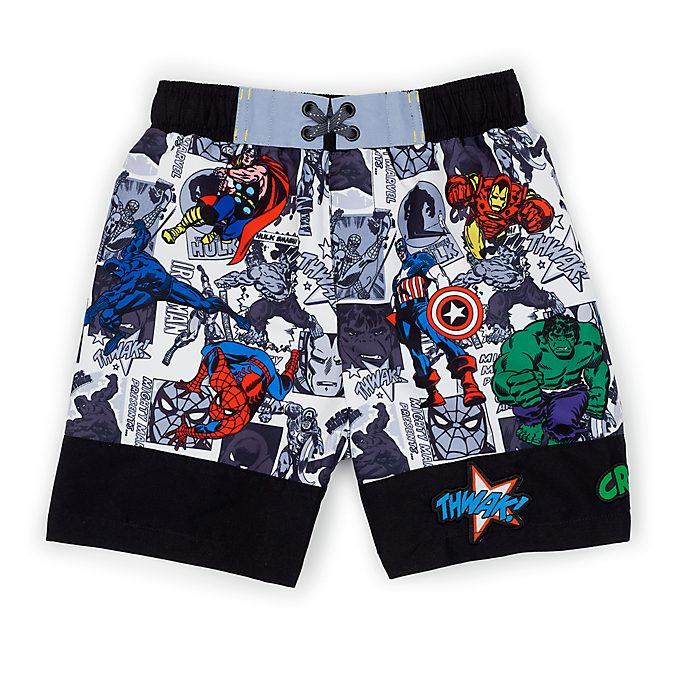 Disney Store Marvel Comics Swim Trunks For Kids