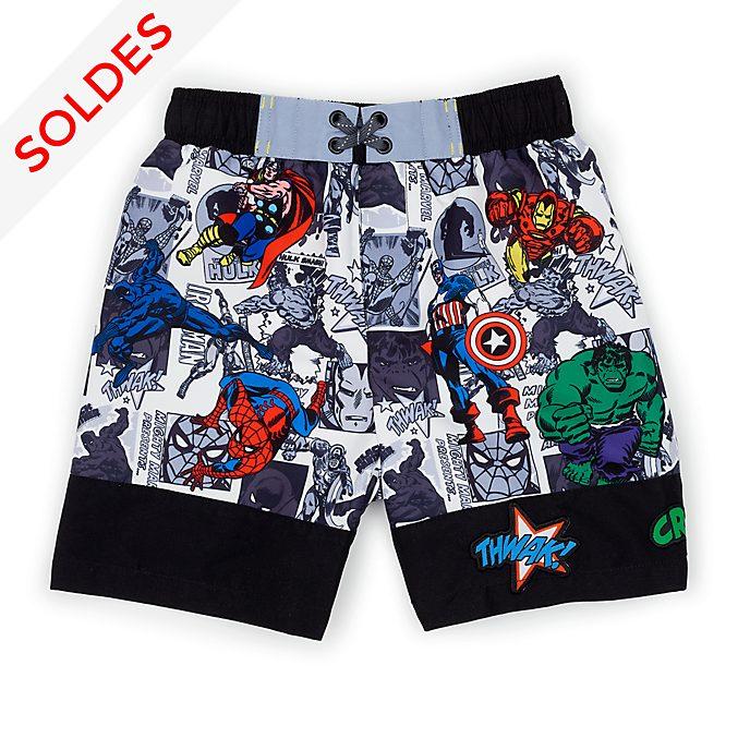 Disney Store Short de bain Marvel Comics pour enfants