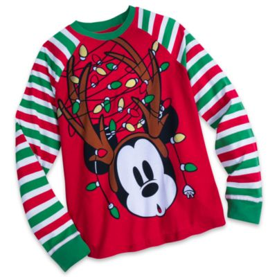 Share the Magic Mickey Mouse Festive Men's Pyjamas