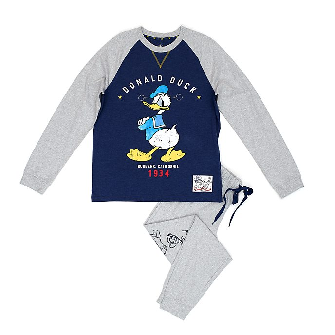 Disney Store Donald Duck Pyjamas For Adults
