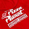 Mono Pizza Planet para adultos, Toy Story, Disney Store