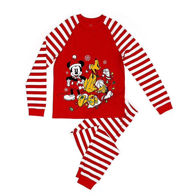 Disney Store Mickey and Friends Holiday Cheer Men's Pyjamas
