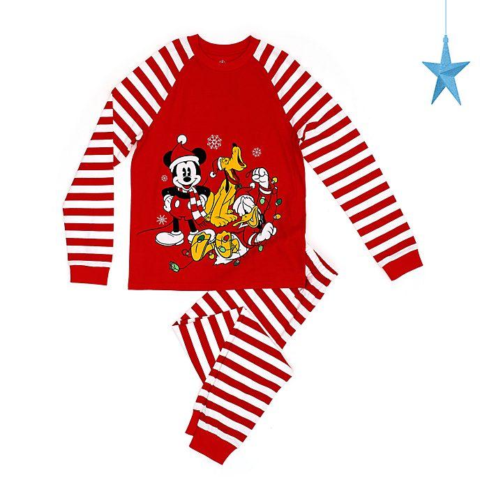 Pijama para hombres Mickey y sus amigos, Holiday Cheer, Disney Store