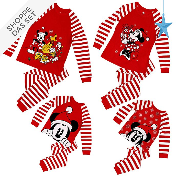 Disney Store - Micky und Freunde - Christmas Family Loungewear Collection