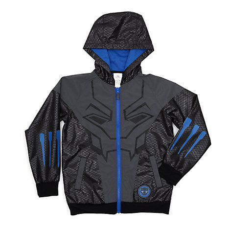 Black Panther Hooded Jacket For Kids