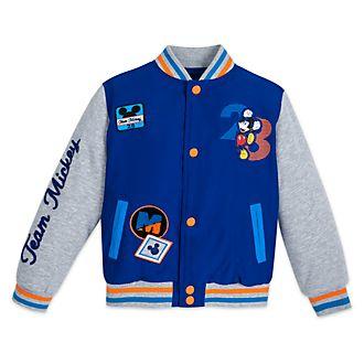 Disney Store Mickey Mouse Varsity Jacket For Kids