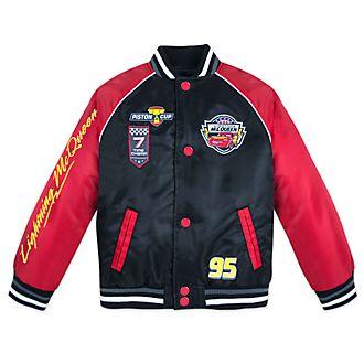Disney Store Lightning McQueen Varsity Jacket For Kids