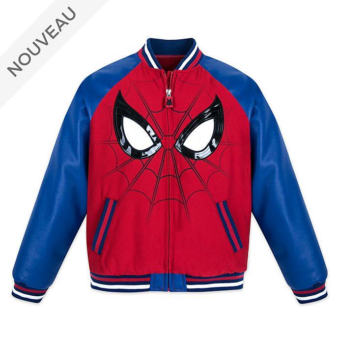 Disney Store Blouson Spider-Man style universitaire pour enfants
