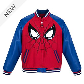 Disney Store Spider-Man Varsity Jacket For Kids