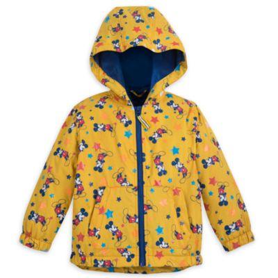 Micky Maus - Regenmantel mit Farbwechsel für Kinder