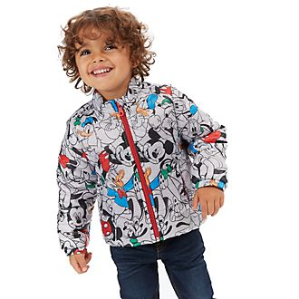 Disney Store Mickey and Friends Puffer Jacket For Kids