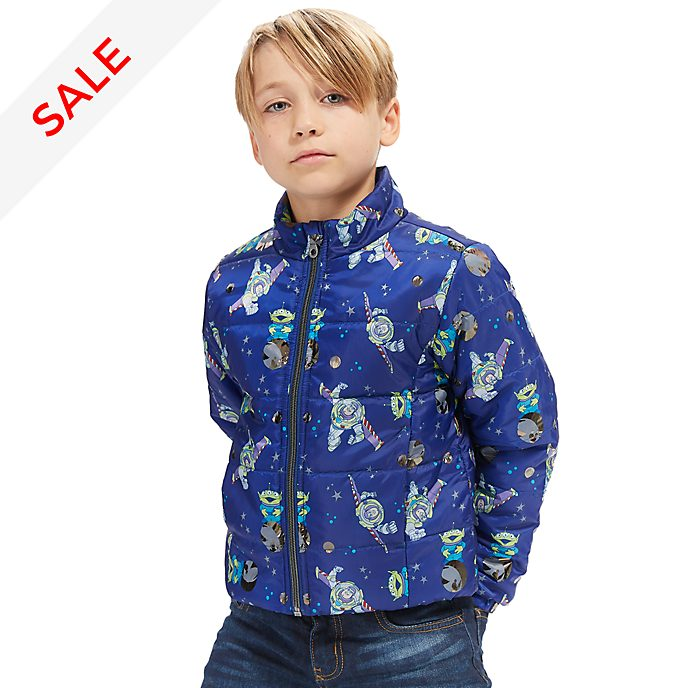 Disney Store Toy Story Puffer Jacket For Kids