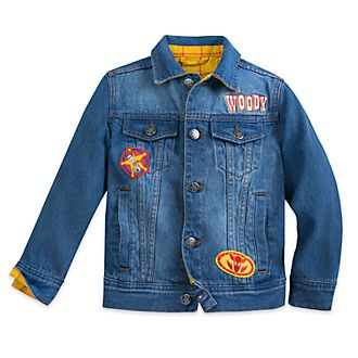 Disney Store Veste en denim Woody pour enfants, Toy Story 4