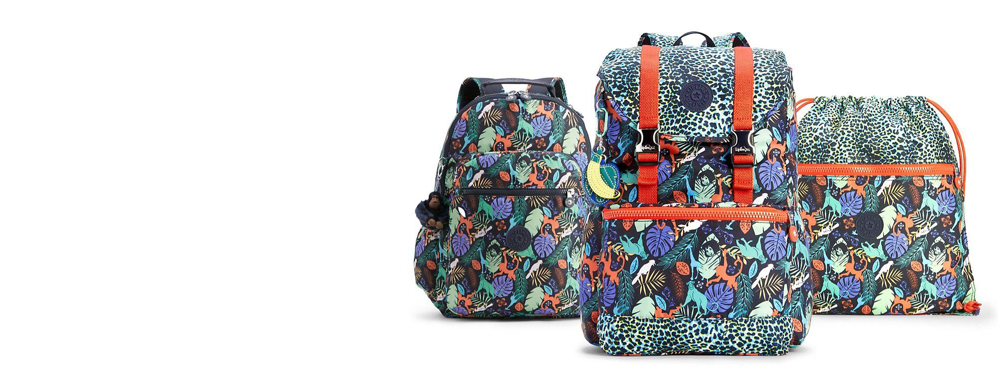Kipling Lleva toda la magia de tus personajes favoritos de Disney en todo momento con las mochilas y accesorios de Kipling. ¡Descúbrelos! DESCUBRIR MÁS