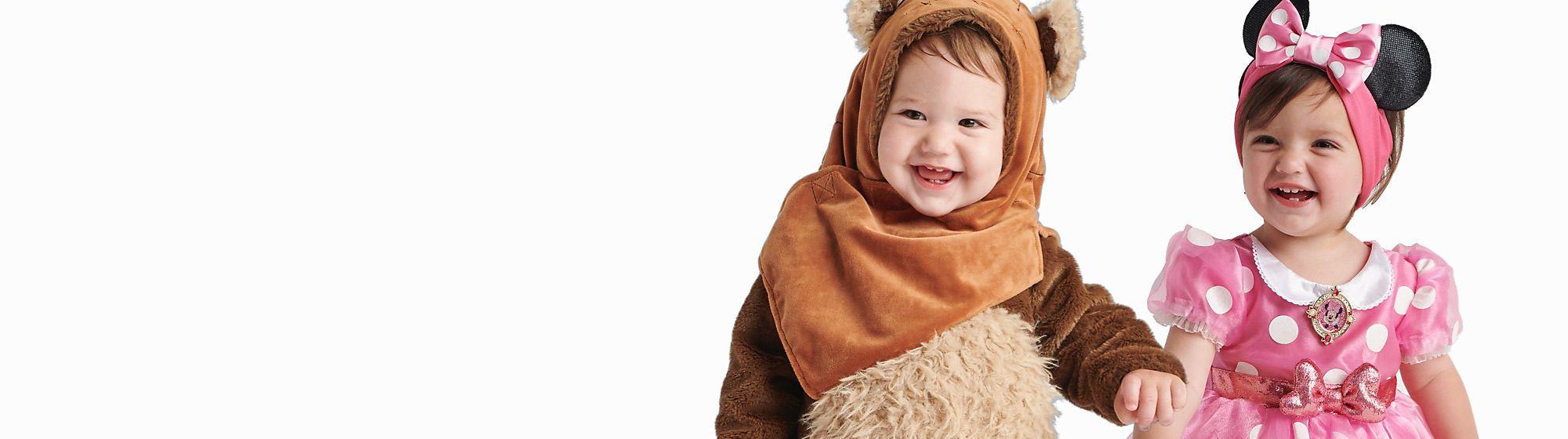 Costumi baby Costumi baby dei personaggi Disney, Star Wars, Pixar e Marvel che ti piaccioni di più