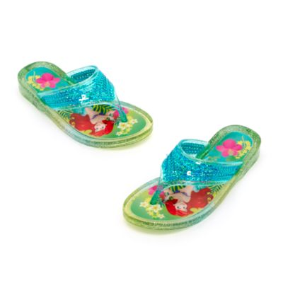 Ariel Jelly Flip Flops for Kids, The Little Mermaid