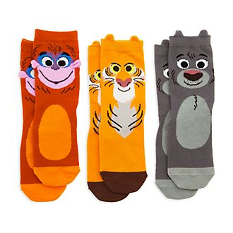 Disney Store Furrytale Friends Socks For Kids, 3 Pairs