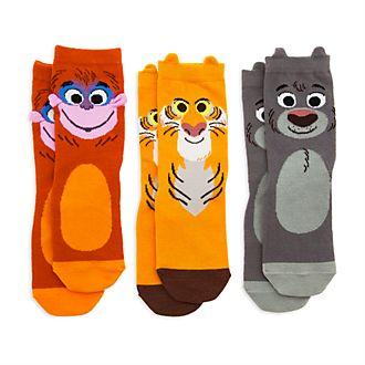 Calcetines infantiles Furrytale Friends, Disney Store (3 pares)