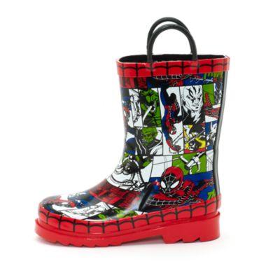 Botas agua infantiles Spider-Man