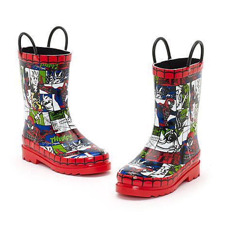Spider-Man gummistøvler