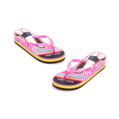 Soy Luna Platform Flip Flops for Kids