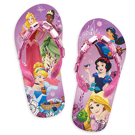 Disney Princess Flip Flops for Kids