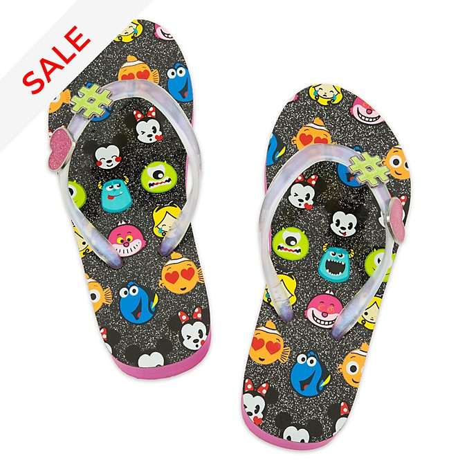 5798d454afd83 World of Disney Emoji Flip Flops For Kids