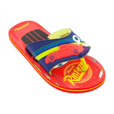 Disney Pixar Cars Flip Flops For Kids