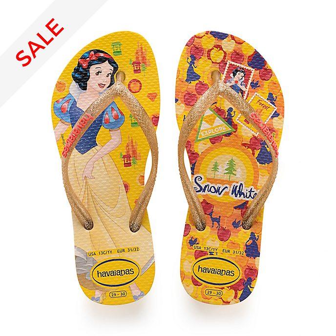 Havaianas Snow White Flip Flops For Kids
