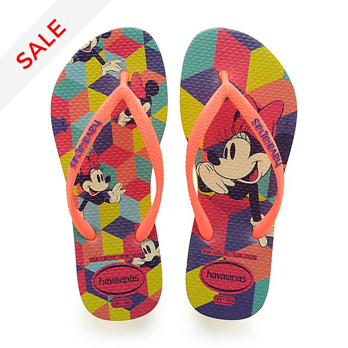 Havaianas Minnie Mouse Flip Flops For Kids