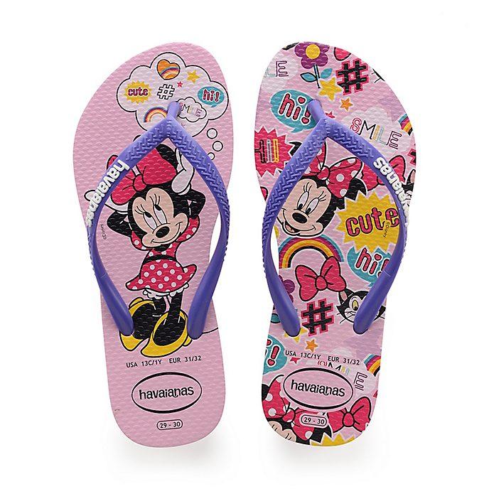 Havaianas Tongs Minnie roses pour enfants