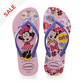 Havaianas Minnie Mouse Pink Flip Flops For Kids