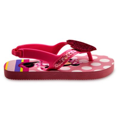 Minnie Mouse Flip Flops For Kids