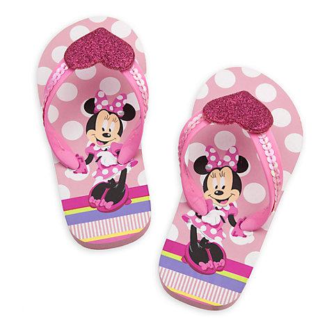 minnie mouse flip flops for kids. Black Bedroom Furniture Sets. Home Design Ideas