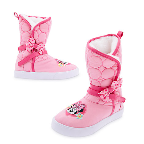 Minnie Mouse Boots For Kids
