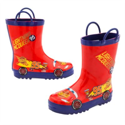 Disney Pixar Cars Rain Boots For Kids