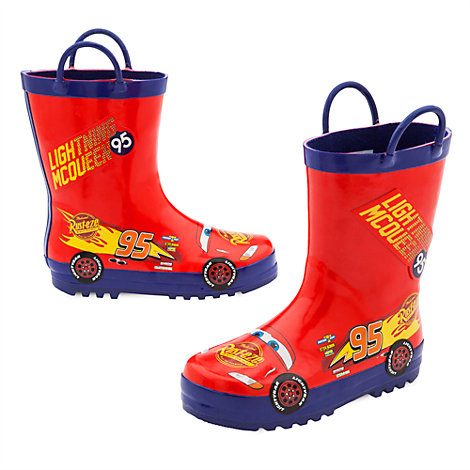 Stivali da pioggia bimbi Disney Pixar Cars