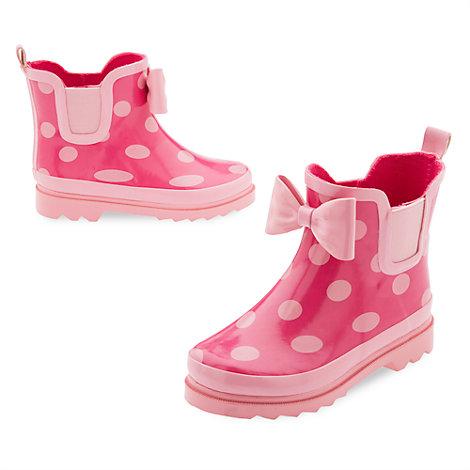 Bottines de pluie Minnie Mouse pour enfants