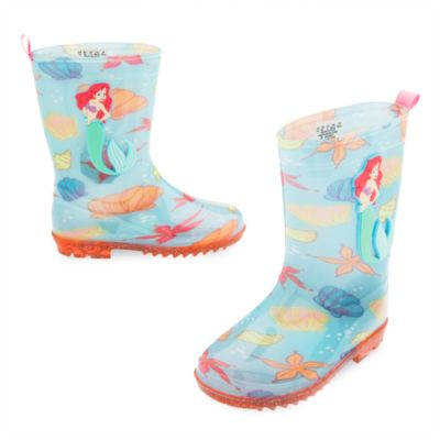 The Little Mermaid Rain Boots For Kids