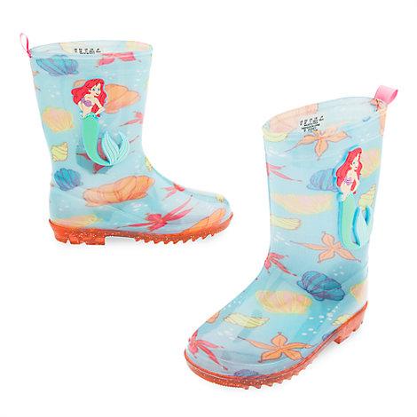 The Little Mermaid Rain Boots For Kids
