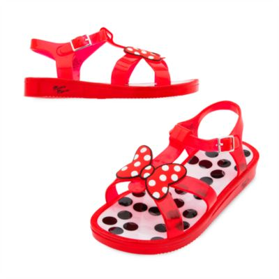 Minnie Rocks The Dots Jelly Shoes For Kids