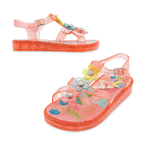 The Little Mermaid Jelly Shoes For Kids
