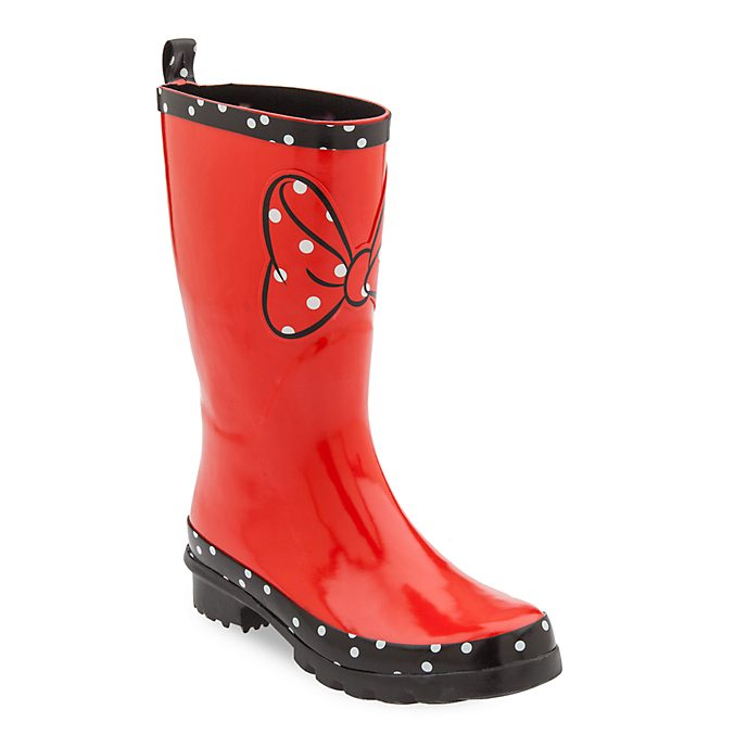 Disney Store Bottes en caoutchouc Minnie Rocks the Dots pour adultes
