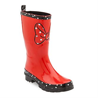Disney Store - Minnie Rocks the Dots - Gummistiefel für Erwachsene