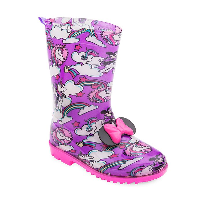 Disney Store Minnie Mouse Wellington Boots For Kids